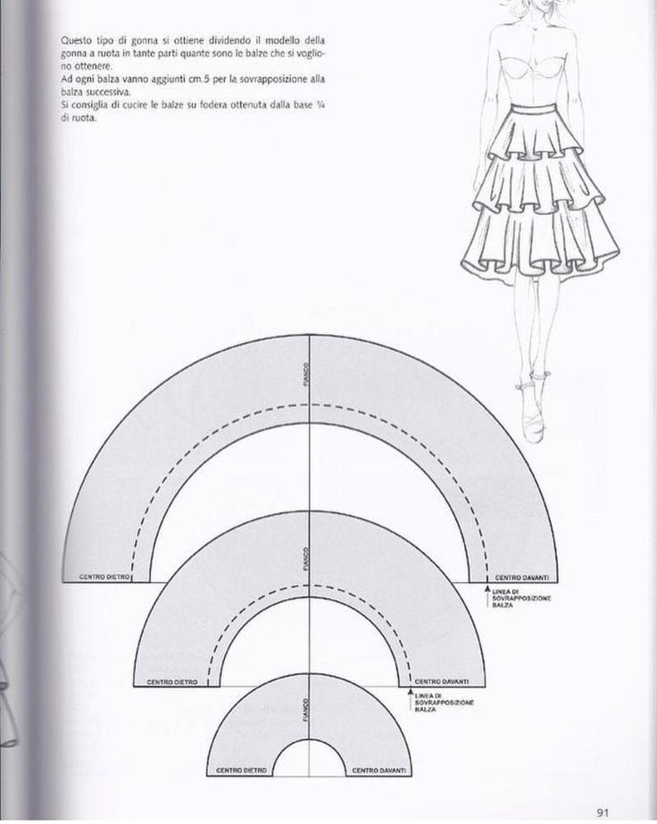 Mejores 513 imágenes de tecnicas costura en Pinterest | Patrones de ...