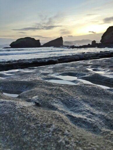 papuma beach before sunrise