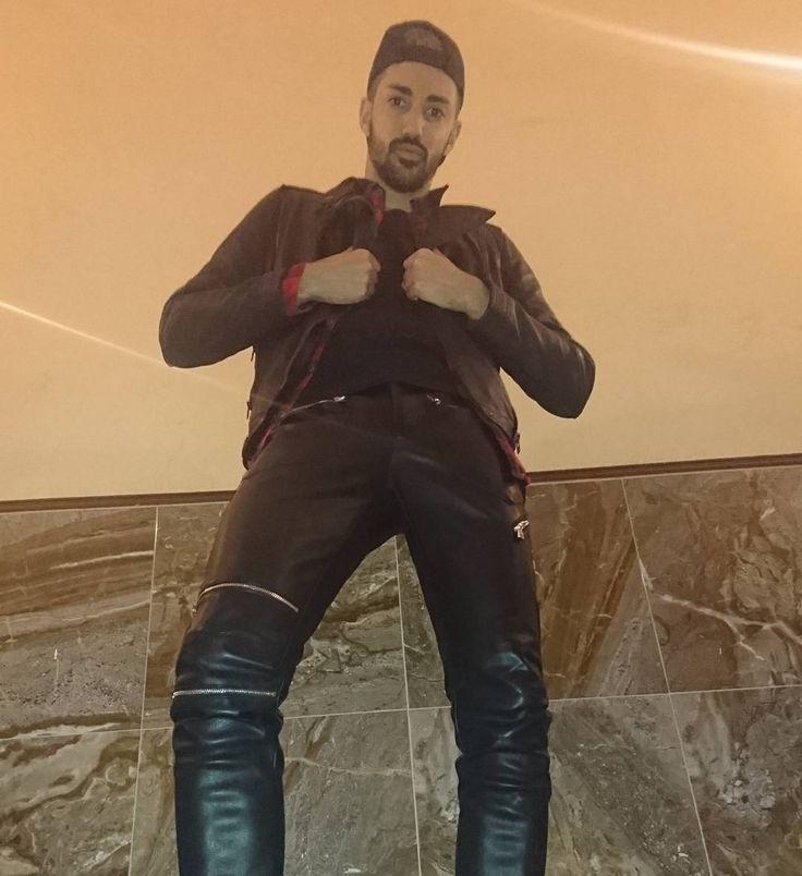 Bad leather boy!