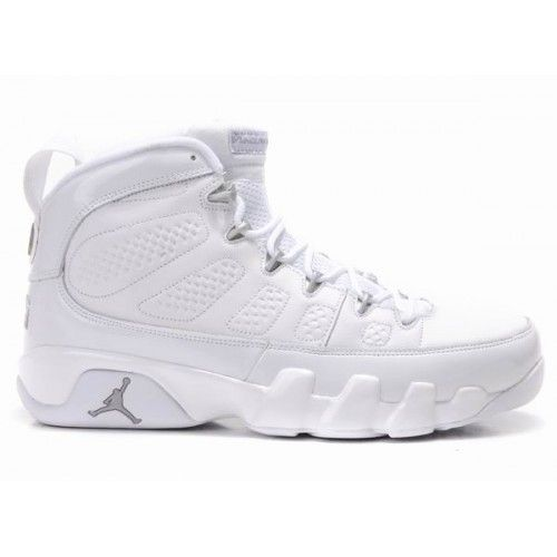 302370-104 Air Jordan 9 (IX) Retro White Metallic Silver A09007 Price: