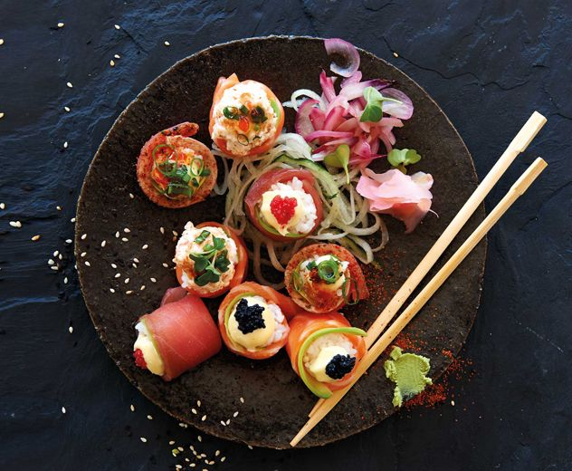 Sushi at Cape Town Fish Market. Photograph courtesy of the restaurant.