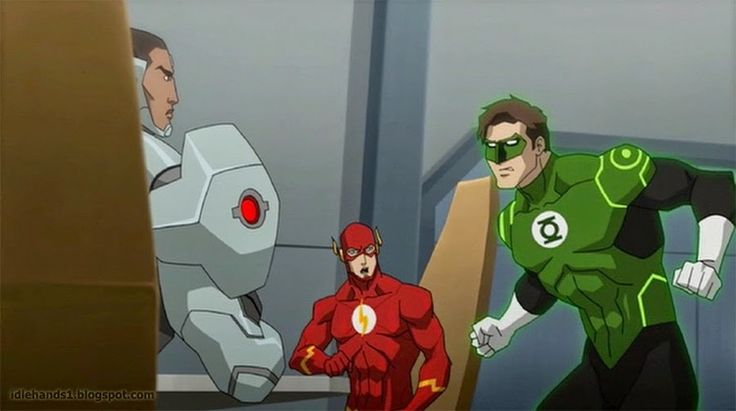 12 Images from JUSTICE LEAGUE: THRONE OF ATLANTIS Animated Movie (Gallery at link.)