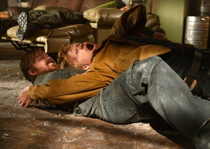 Aaron Paul as Jessie Pinkman and Jesse Plemons as Todd, Breaking Bad, (AMC)
