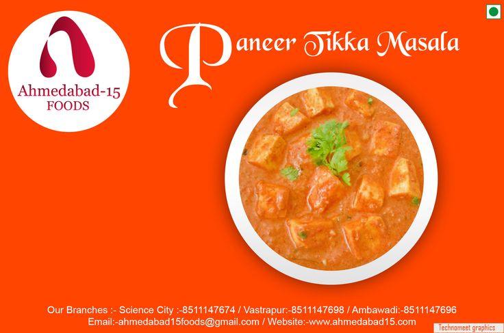 Happiness overloaded !! Too much yumminess on plate :) #paneertikka  #Foodoholics #Foodies #Spicy #Yummy #Tasty #Friends #Family #Amawadi #Vastrapur #Sciencecity #Ahmedabad