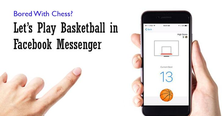 How to play Facebook Messenger's secret basketball minigame