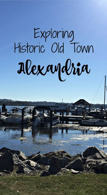 Exploring Historic Old Town Alexandria, Virginia- Becoming a Traveling Family
