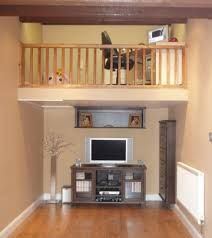Garage conversions mezzanine and garage on pinterest for Garage mezzanine ideas