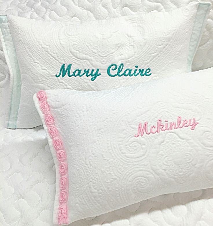 Well known 12 best Embellished Babe Personalized Name Pillows images on  SX37