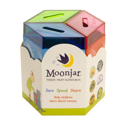 Moonjar Classic Moneybox: Save, Spend, Share. Shopswell | Shopping smarter together.™