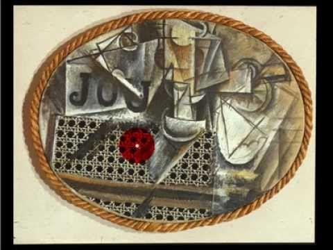 """Conversación en torno a """"Naturaleza muerta con silla de rejilla"""" (1912) de Picasso. En inglés."""