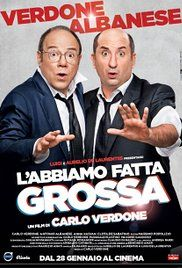 L'Abbiamo Fatta Grossa Streaming Casacinema. Yuri Pelagatti (Albanese) wants the evidence of infidelity of his ex-wife and assumes Arturo Merlino (Verdone) believing him a super detective. The two, accidentally, come into possession of a mysterious case filled up with money.