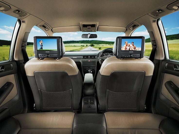 "Entertainment for passengers/children on long car journeys - Next Base SDV48AC Twin 7"" Portable DVD Player.  http://www.pricerunner.co.uk/cl/636/Car-Accessories#search=car+dvd+player&sort=4&q=car+dvd+player"