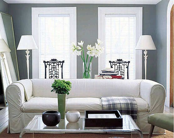 White-and-grey-living-room-design-in-2012: Wall Colors, Paintings Colors, Shakers Gray, Living Rooms Colors, Moore Shakers, Benjamin Moore, Gray Paintings, Decor Blog, Paintings Colour