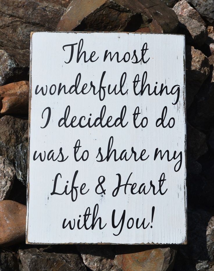 Good Wedding Gift Ideas For Older Couples : Rustic Wedding Sign 18x12 Love Quotes Anniversary Gift Reception ...