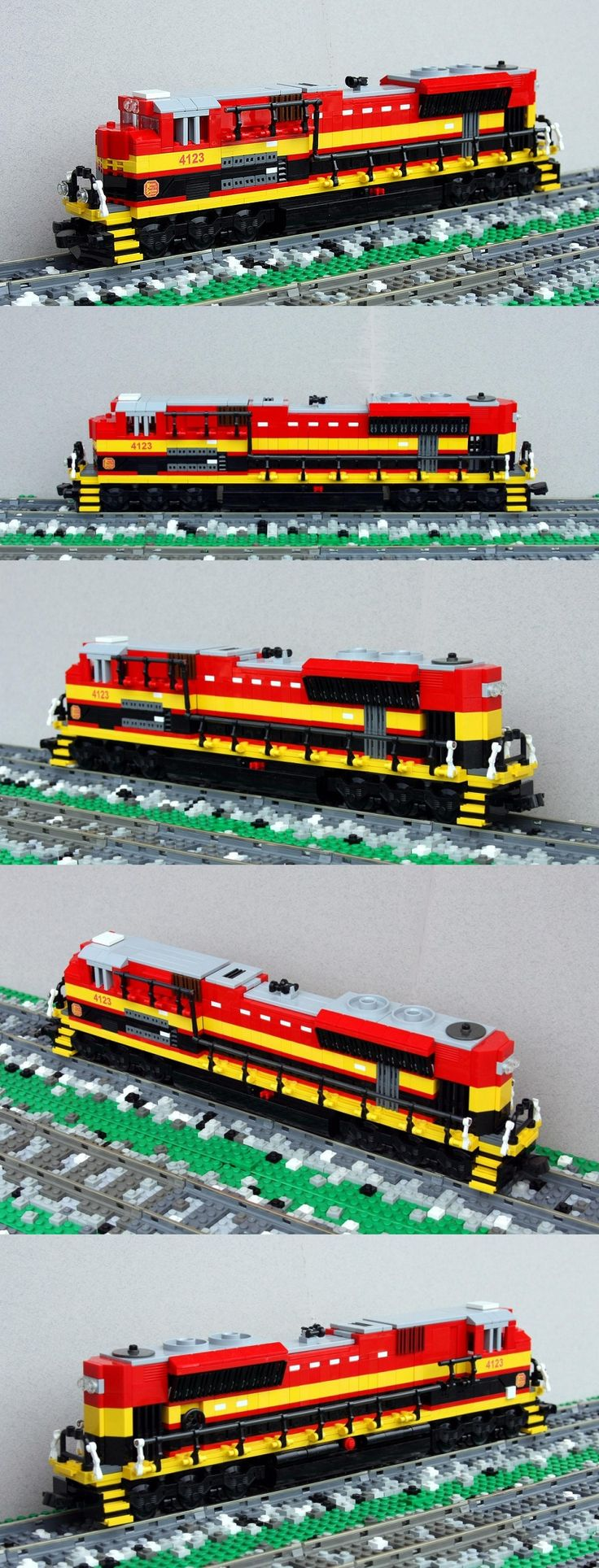 Kansas City Southern SD70ACe #LEGO #train #kansas