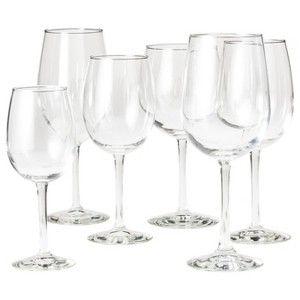 libbey wine glass set of 6 clear - Libbey Glassware