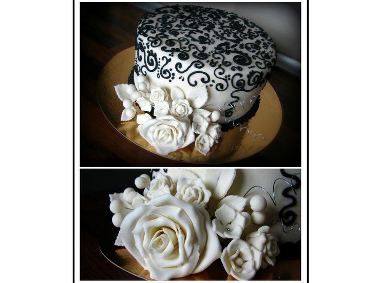 Philadelphia cake for my aunt I