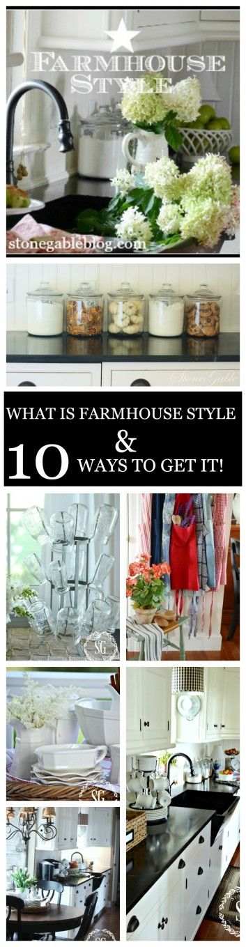 WHAT IS FARMHOUSE STYLE AND 10 WAYS TO GET IT!