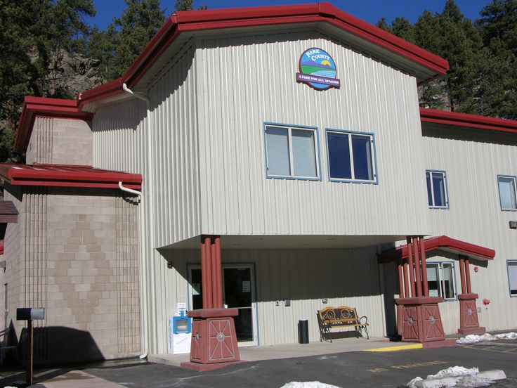 Metal Building Outlet Supplied This Commercial Located In Bailey Colorado For Park County Government