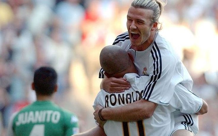 David Beckham: career in pictures