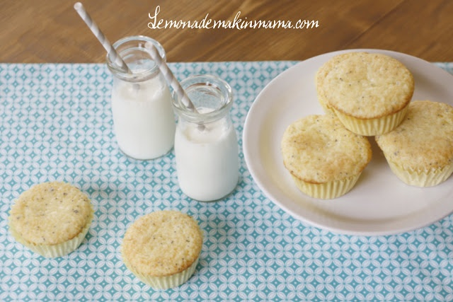 Gluten free Meyer Lemon Poppy Seed Muffins (baking reflections...)