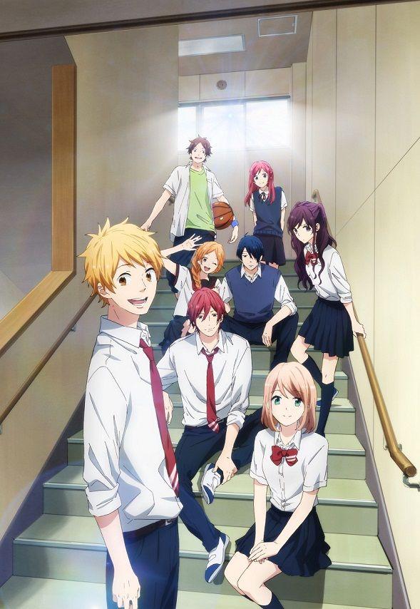 Imagen promocional para la segunda mitad del Anime Nijiiro Days.