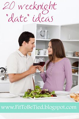 Weeknight Date Ideas (at home!) I particularly liked the baseball idea! ;)