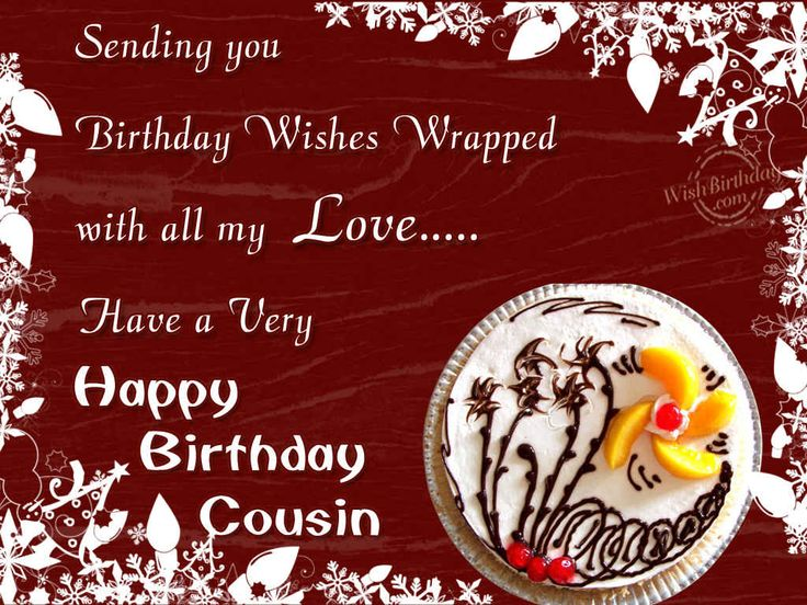 Best 25 Cousin birthday quotes ideas – Happy Birthday Greeting Card Sayings