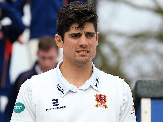 England Test captain Alastair Cook scores century for Essex