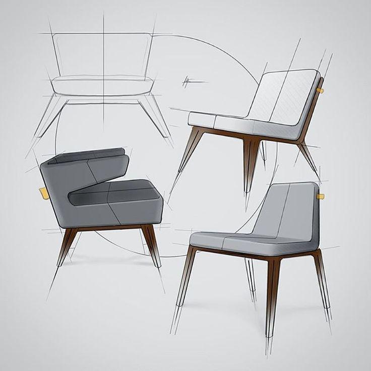 Filip Chaeder Freelancing Industrial Designer And Illustrator. Sweden.  More. Furniture SketchesDrawing FurnitureFurniture DesignProduct ...