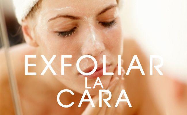 Para Poder Exfoliar La Cara Puedes Usar Productos Naturales Como Sal De Mar Azúcar Granulada Avena Arcilla Entre Otros Los Pu Face Care Beauty Hacks Face