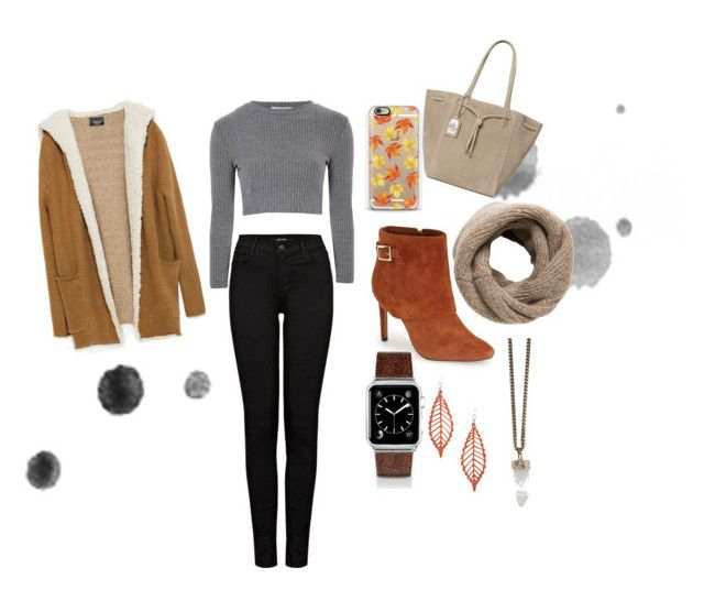 """""""Autumn outfit"""" by love666x on Polyvore featuring moda, Glamorous, Casetify, Ralph Lauren, Jessica Simpson, Zara, MANGO, Givenchy, J Brand y autumn"""