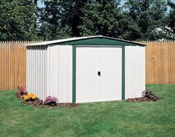 Arrow Hamlet 10'W x 8'D Steel Building from Menards $289.00
