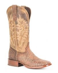 Stetson® mænd Shield Wide Square Toe Boots