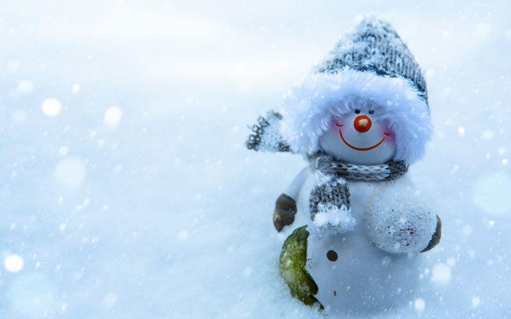 Bałwan, Zima, Śnieg