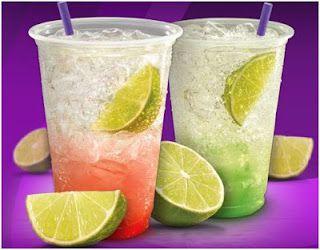 Taco Bell Restaurant Copycat Recipes: Limeade Sparkler
