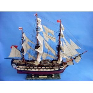 "HMS Leopard 36"" - HMS Leopard - Model Ship Wood Replica - Not a Model Kit (Toy)  http://howtogetfaster.co.uk/jenks.php?p=B002YLNRLW  B002YLNRLW"