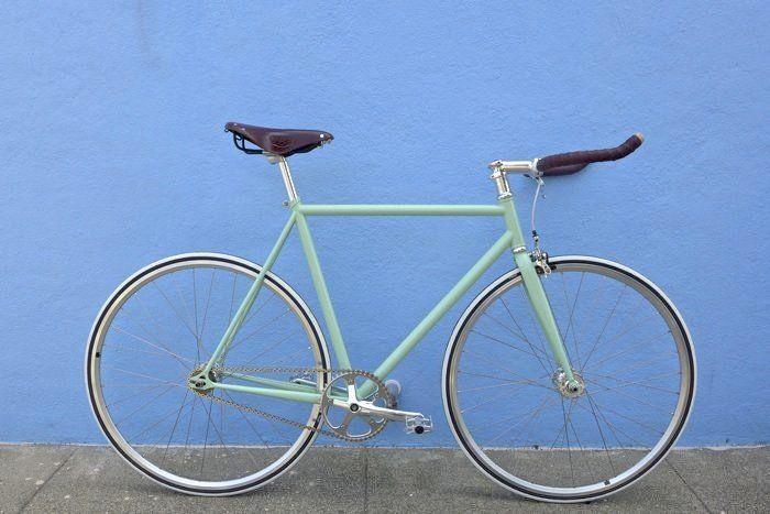 Arma Tu Bici Fixie o Híbrida  Menta - desde $194.900 en armatubici.cl !