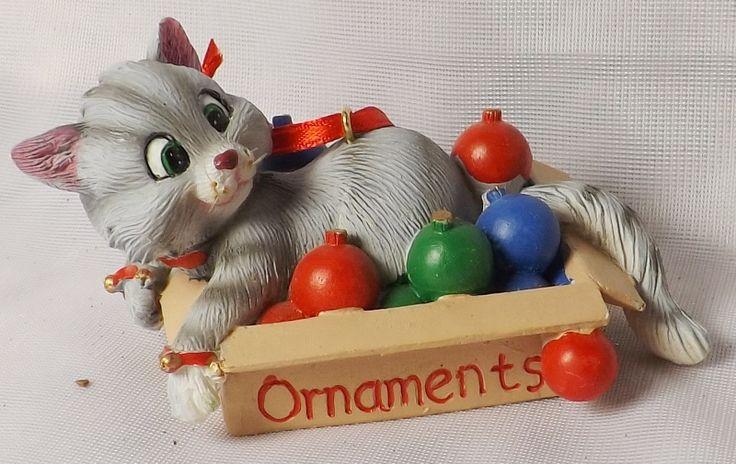 christbaumschmuck weihnachtsdeko haengedeko katze christmas cat ornaments pinterest. Black Bedroom Furniture Sets. Home Design Ideas