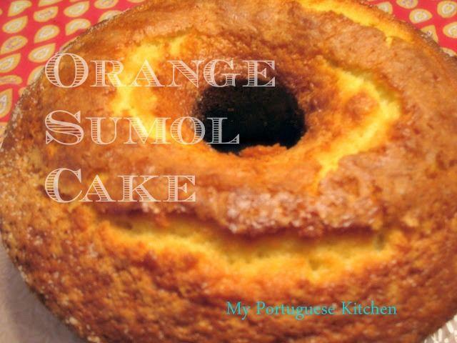 Orange Sumol Cake