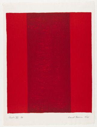 Barnett Newman, Canto XVI, 1964