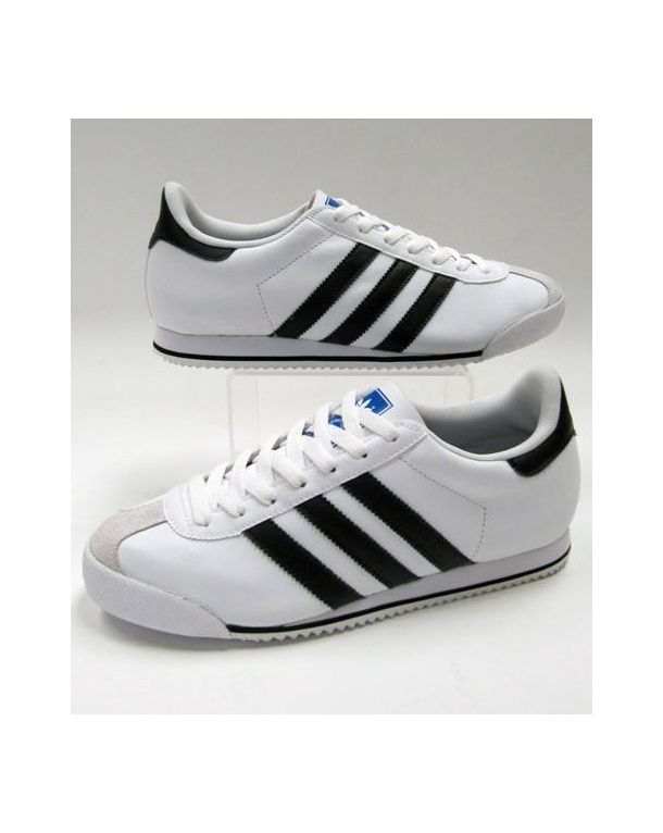 Adidas Kick Trainers in White & Black. Find this Pin and more on adidas  Originals ...