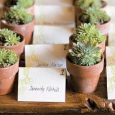 Bonbonniere ideas that can be used after the wedding