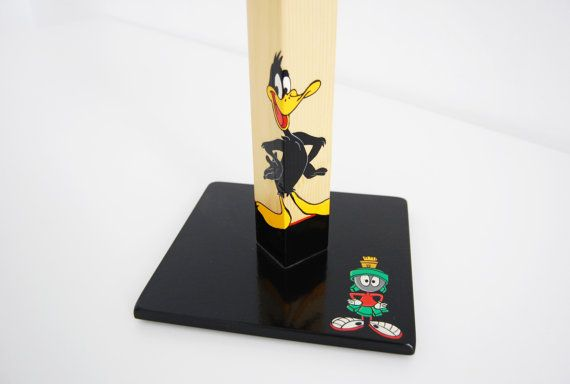 Daffy Duck & Marvin the Martian handmade wooden by QrtosCreations