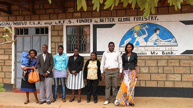 Nguni Microfinance bank in Kenya, funded by Better Globe