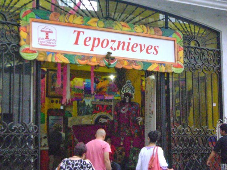 Tepoznieves. Tepoztlan, Pueblo Magico