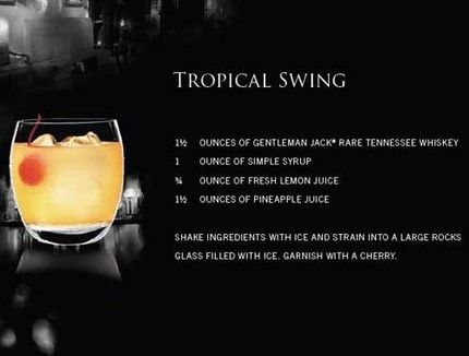 Gentleman Jack Tropical Swing