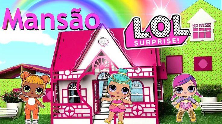 Agora as bonecas LOL Surpresa tem uma Big Mansão para morar! Assista o tour pela nova casa no canal Peter Toys! #loldoll #lolsurprise #lolsurprisedoll #petertoys #youtuber #digitalinfluencer #toychannel