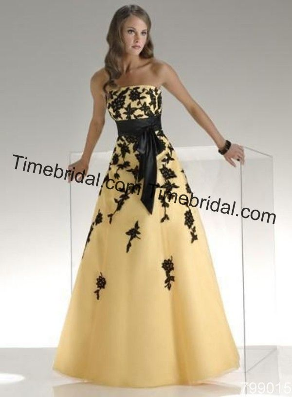 yellow black dress - Hledat Googlem