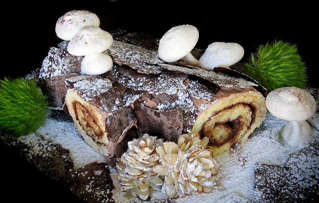 For some reason I have always wanted to make one of these cakes. Sprinkle Bakes: Step-by-Step Bûche de Noël or Yule Log Cake
